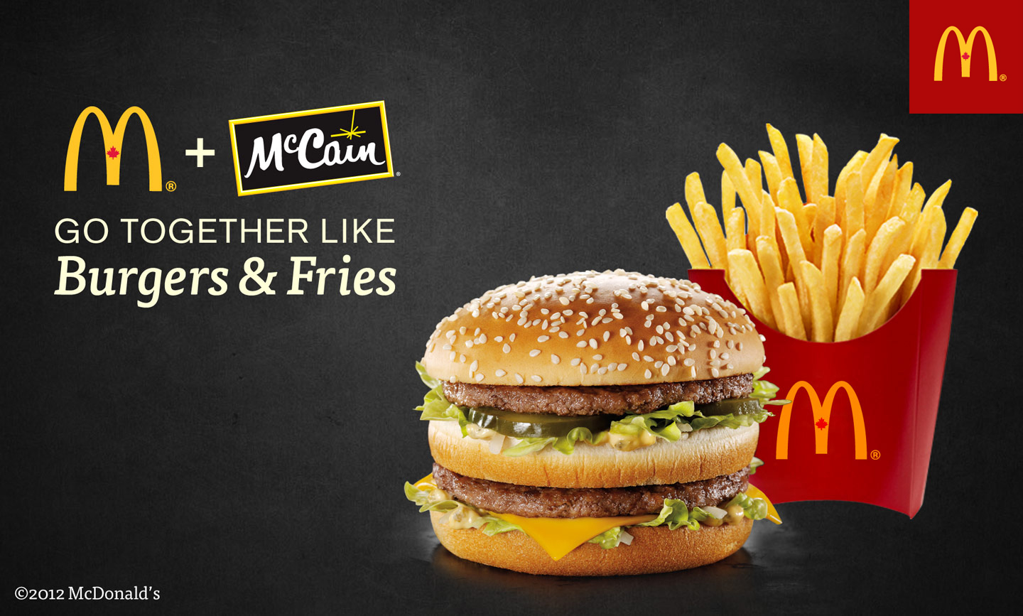 is it true that you fries are from McCain?